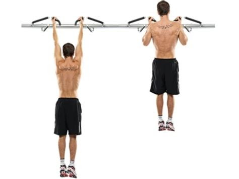 shoulders warm  chin  workout  expert trainermale