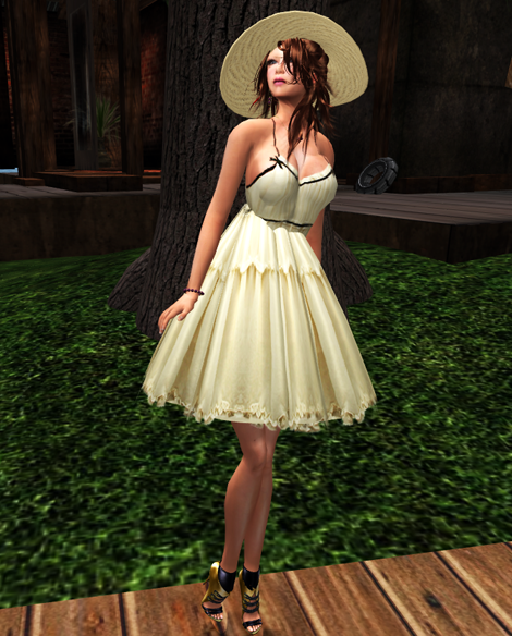 NEW! *Bliss Couture* Kim Dress (Beige)