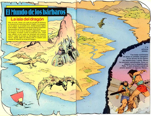Manos #5 Map
