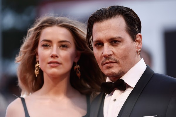 Amber Heard e Johnny Depp (Foto: Getty Images)