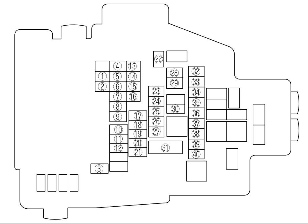 Mazda 6 2011 2013 Fuse Box Diagram Auto Genius