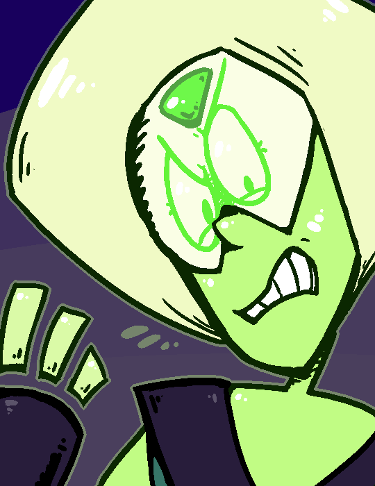 quick thing of peridot cause shes the best