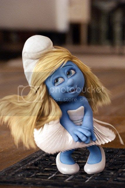 Smurfette at New York Fashion Week