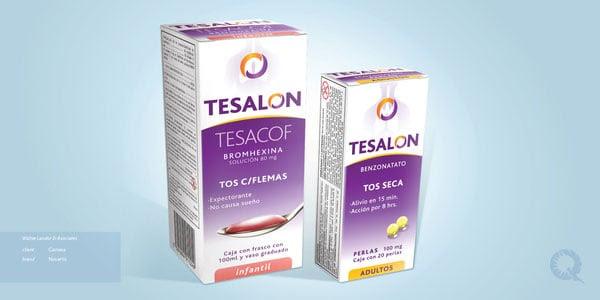 Tesalon Medicine Packaging designs 2 30+ Beautiful Examples of Medicine Packaging Designs For Inspiration