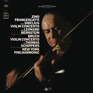 Leonard Bernstein Sibelius: Concerto in D Minor for Violin and Orchestra, Op. 47 & Bruch: Concerto No. 1 in G Minor for Violin and Orchestra, Op. 26