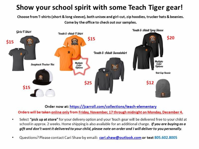 TeachTiger Gear