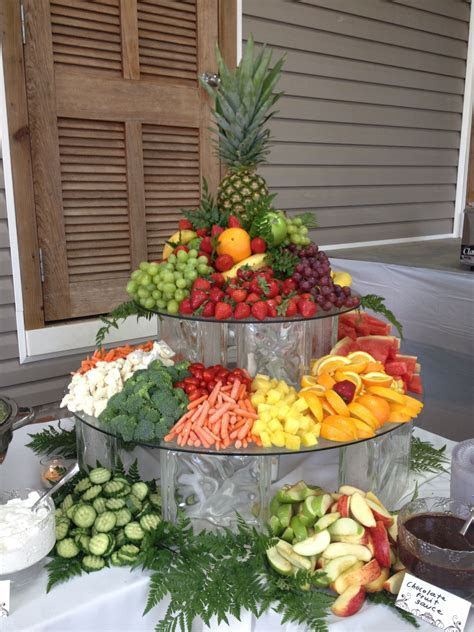 Fruit & Veggie Display. Shady Oaks Catering!   Weddings