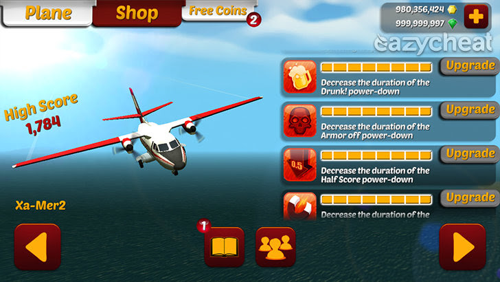 Wings on Fire - Endless Flight v1.25 Cheats