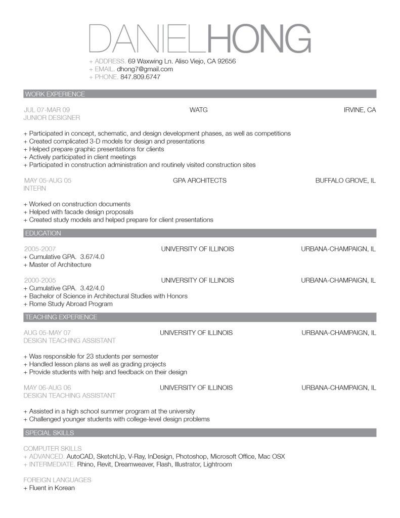 A good resume Amanda Douglas Events 791x1024