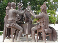 Blood Compact, Bohol, Philippines
