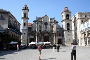 Catedral de la Habana in Havana, Cuba / Photo courtesy of SIUE