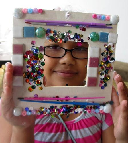 mosaic frames