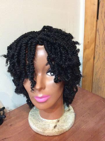 Nubian Kinky Twist Wig on Storenvy