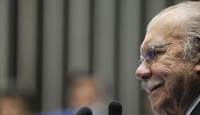 """""""Não vetei Flávio Dino"""", lembra Sarney sobre suposto veto a Pedro Fernandes"""