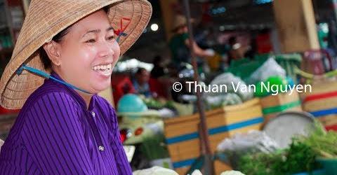 Vietnam || Ke Sach Rural Market || Soc Trang Province