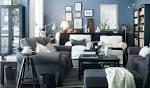 Adorable IKEA Living Room Design Ideas: Awesome Sky Blue IKEA ...