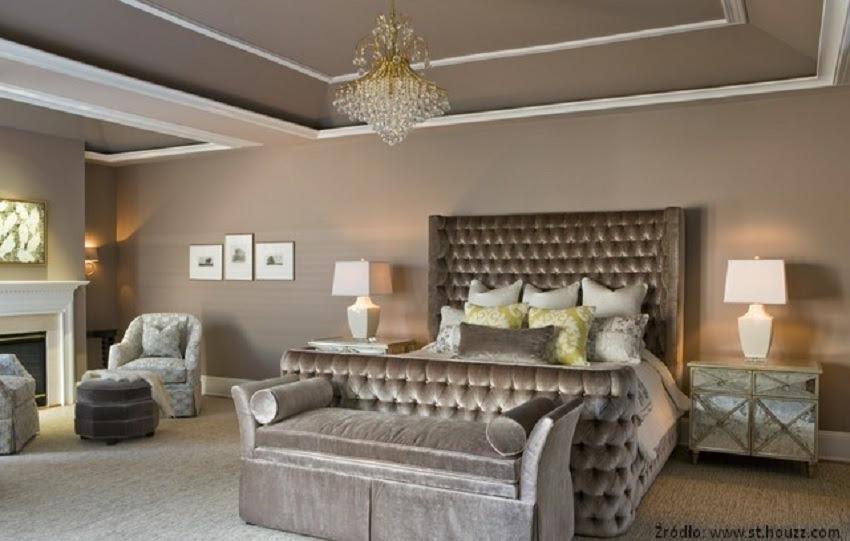 Sypialnia W Stylu Glamour Wirtualne Wnętrza