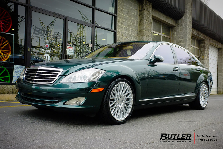 Mercedes S Class With 20in Niche Citrine Wheels Exclusively From Butler Tires And Wheels In