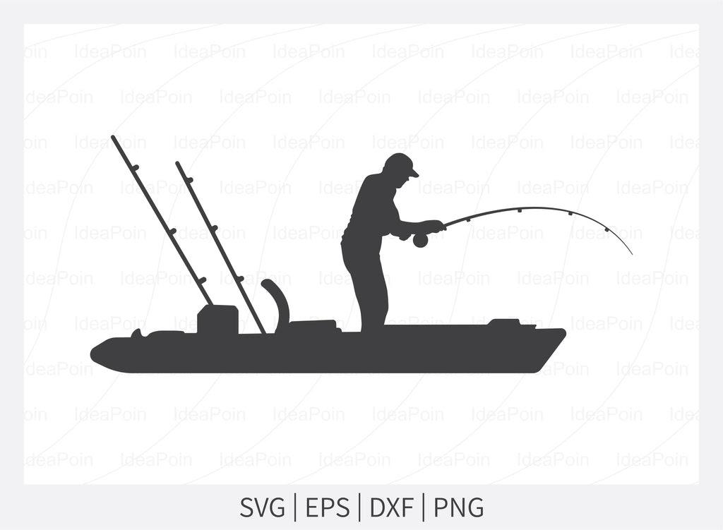 Download Kayak Fishing Svg Kayak Fisherman Svg Kayak Fishing Silhouette Fishing Svg Kayak Fishing Stencil Kayak Fishing Svg File River Fishing So Fontsy
