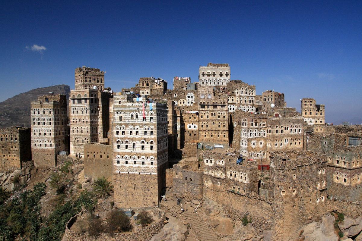 Al Hajjarah, a cidade da Idade Média com edifícios de vários andares 02