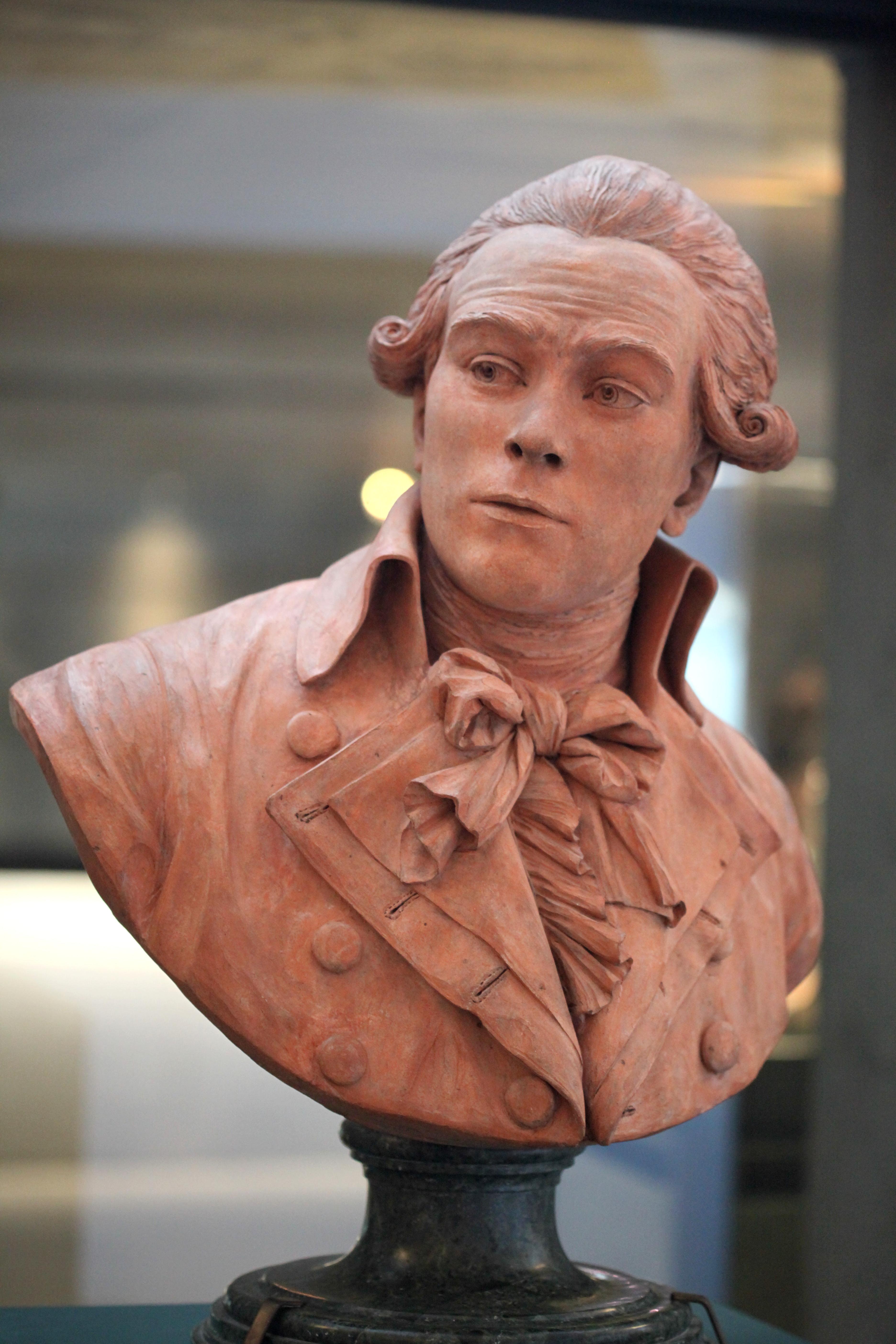Claude-André Deseine: Maximilien François Marie Isidore de Robespierre