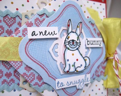 new bunny diamond fold close-up