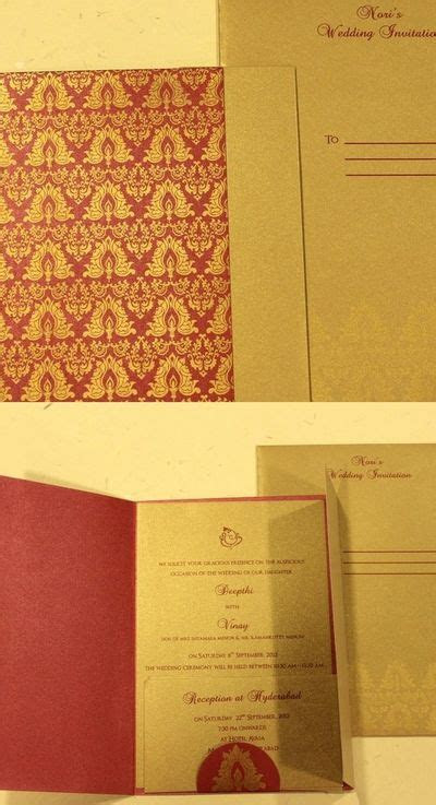 Deckle Edge   Price & Reviews   Wedding Cards in Hyderabad