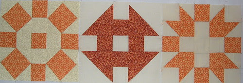 orange sampler blocks