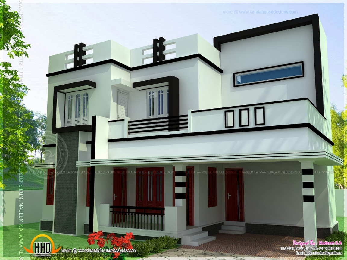 4 Bedroom House Plans Flat Roofs Residential House Plans 4 ...