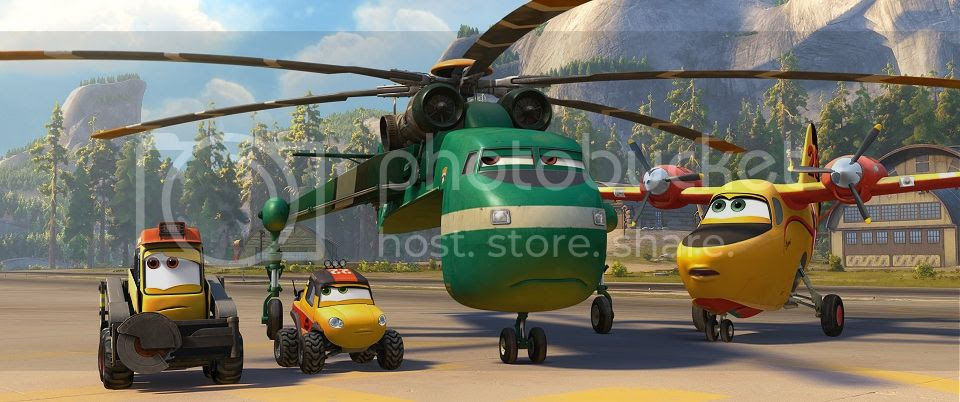 Planes Fire and Rescue Team