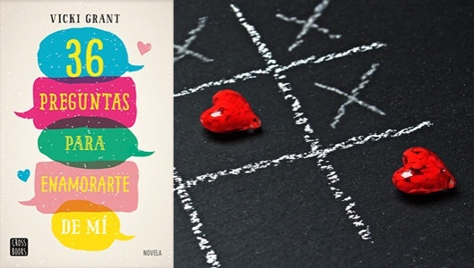 Resultado de imagen de reseña libro 36 preguntas para enamorarte de mi vicki grant