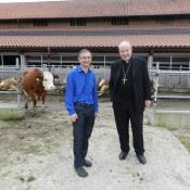 Kardinal Schönborn vorm Auslauf