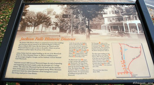 Jackson Falls Historic District Information