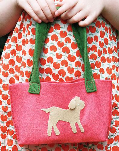 Little Girl's Puppy Purse