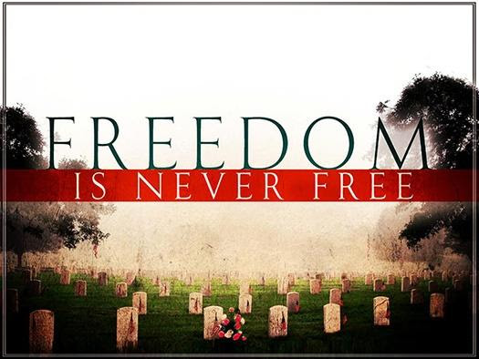 Image result for freedom is never free