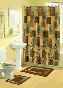 Square Shower Curtain in Bathroom Shower Curtains | eBay