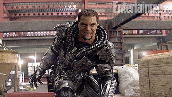 General Zod (Michael Shannon) wants to destroy Superman in MAN OF STEEL.
