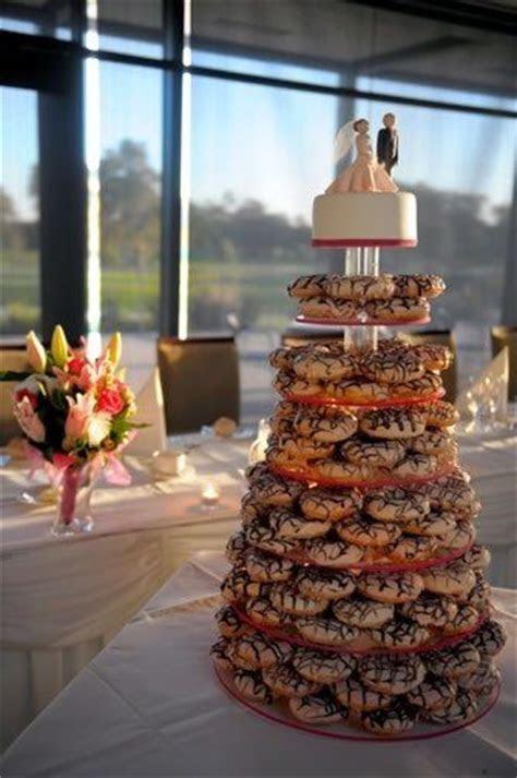 Our Krispy Kreme Donut Wedding Cake!   Yummy stuff