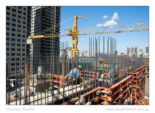 Edificio Repsol en construcción