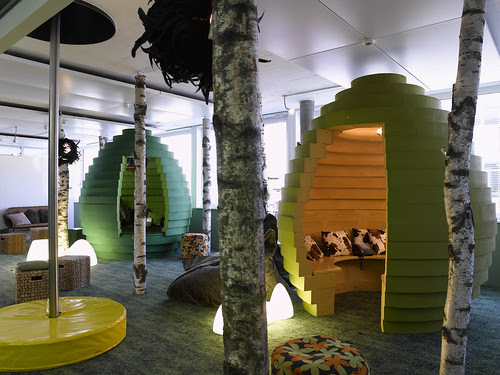 """Google Office """"Cubicles"""""""