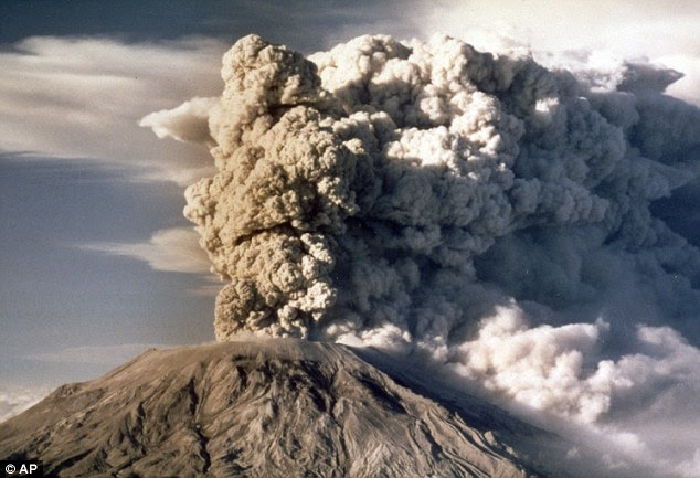 Washington's notorious volcano is best known for its 'cataclysmic' 1980 eruption, which brought devastation and destruction that stretched on for miles, and visible ash fall nearly 1000 miles away. The  event killed 57 people and blasted more than 1,300 feet off the top of the mountain. Now, scientists say its recharging