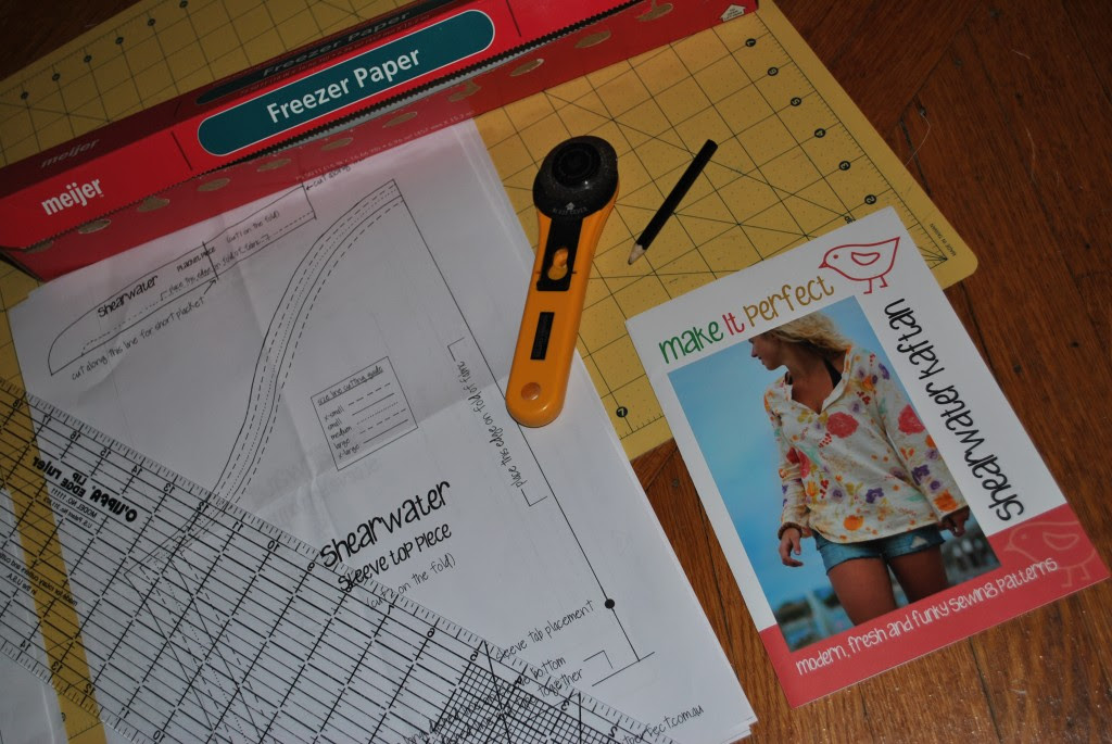 How to Transfer a Sewing Pattern