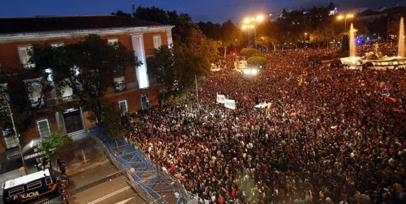Manifestación en Madrid. 29 de septiembre de 2012