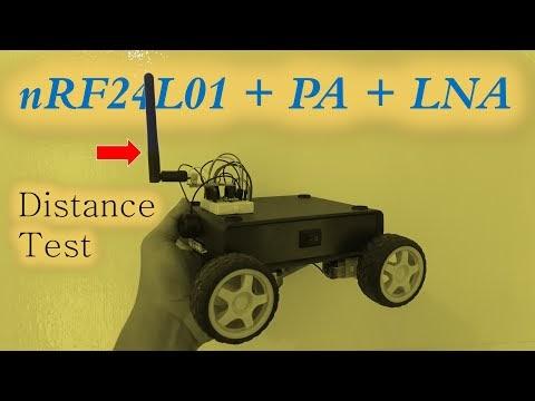 nRF24L01 + PA + LNA Arduino