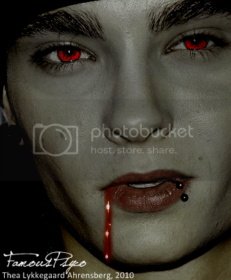 Tom Kaulitz Vampire by famouspsyco Pictures, Images and Photos