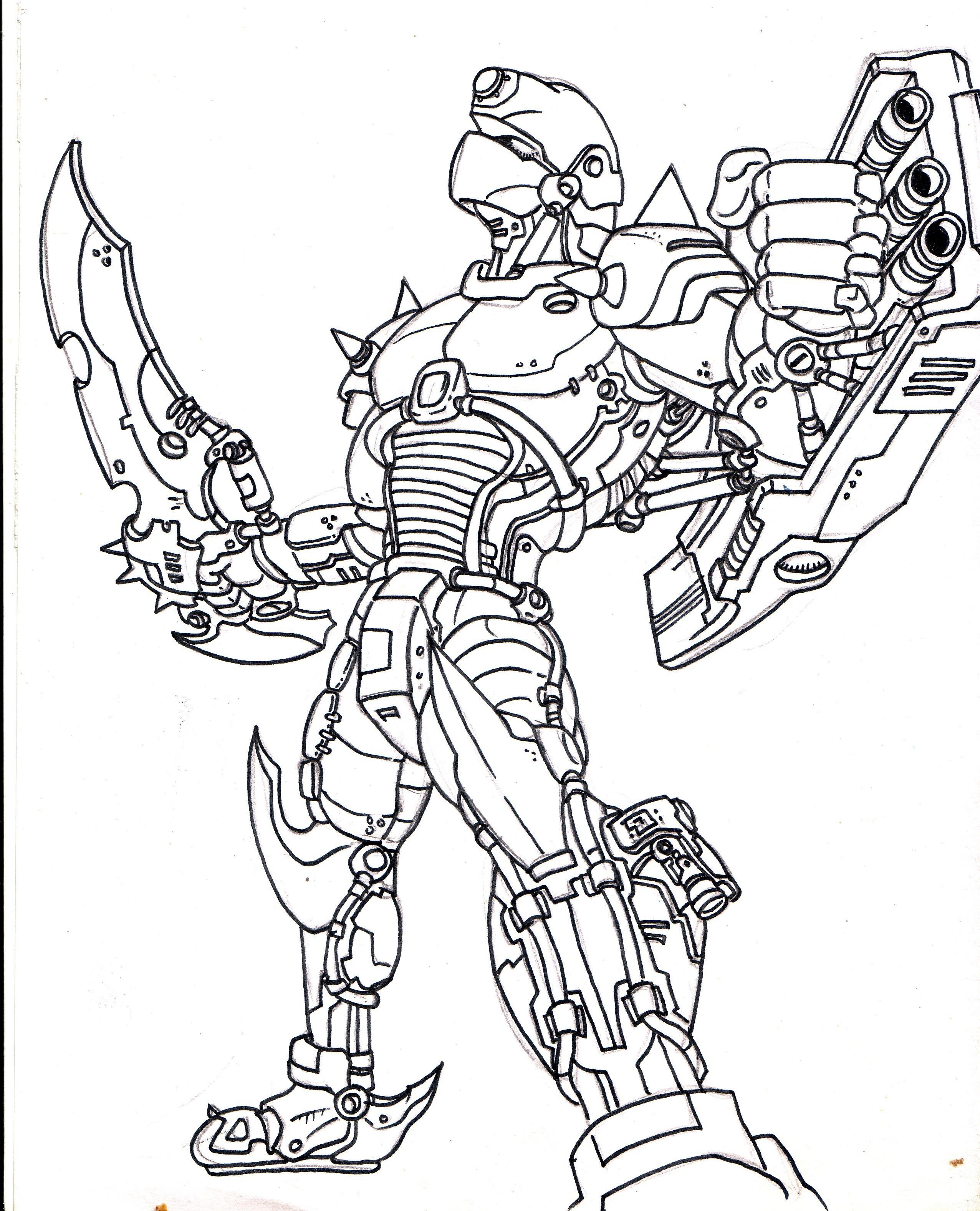 Gambar  Mewarnai  Robot  Gundam