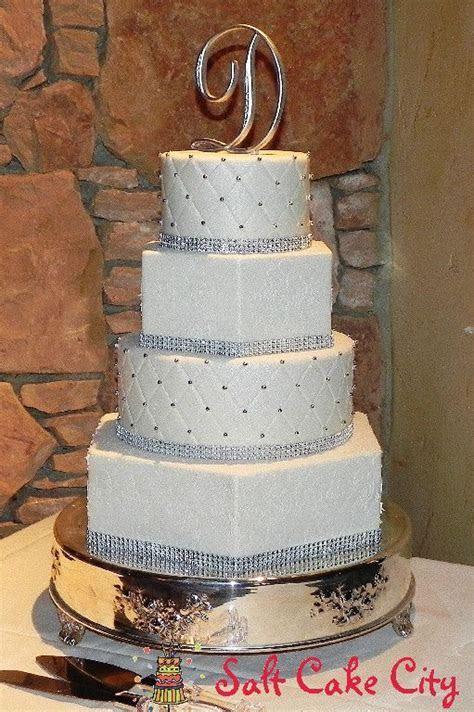 17 Best ideas about Hexagon Wedding Cake on Pinterest