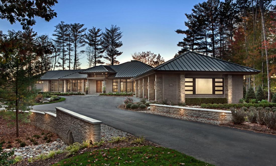 Vanbrouck Associates Luxury Residential Design Residential Architects Bloomfield Hills Michigan
