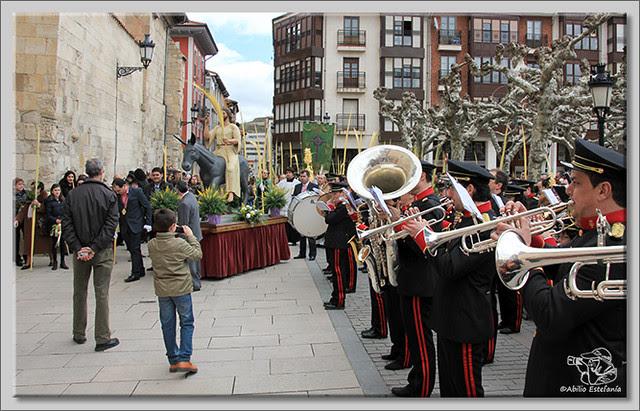 8 Domingo de Ramos en Briviesca