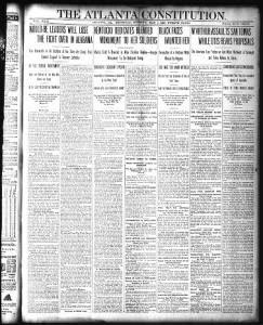 5/4/1899 - INSURRECTION IS PROCLAIMED